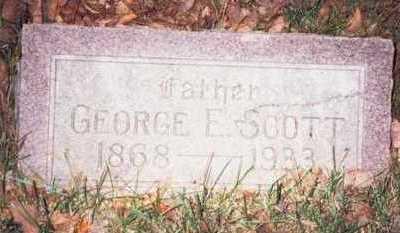 SCOTT, GEORGE E. - Pottawattamie County, Iowa | GEORGE E. SCOTT