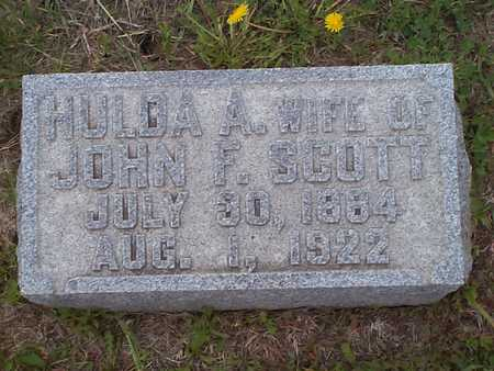 SCOTT, HULDA A. - Pottawattamie County, Iowa | HULDA A. SCOTT