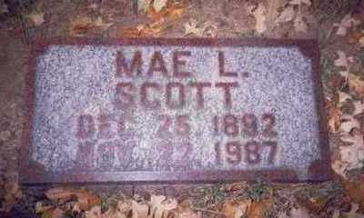 SCOTT, MAE LETA - Pottawattamie County, Iowa | MAE LETA SCOTT