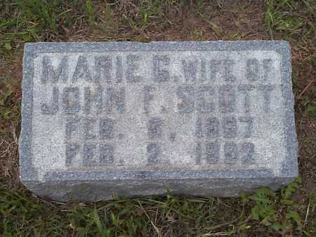 SCOTT, MARIE G. - Pottawattamie County, Iowa | MARIE G. SCOTT