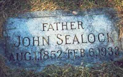 SEALOCK, JOHN - Pottawattamie County, Iowa | JOHN SEALOCK