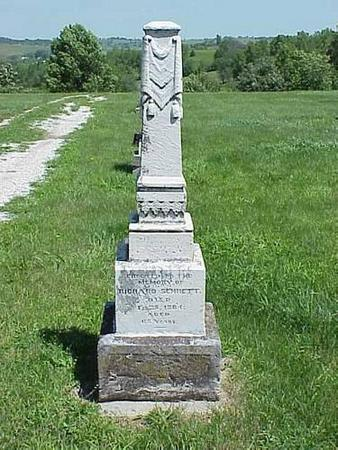 SENNETT, HEADSTONE - Pottawattamie County, Iowa | HEADSTONE SENNETT