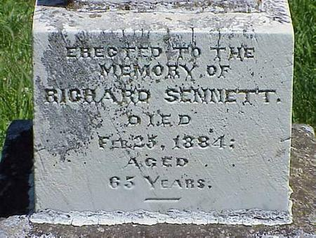 SENNETT, RICHARD - Pottawattamie County, Iowa | RICHARD SENNETT