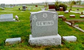 SEWING, FAMILY PLOT - Pottawattamie County, Iowa | FAMILY PLOT SEWING