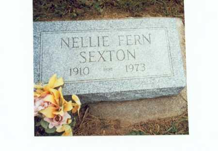 SEXTON, NELLIE FERN - Pottawattamie County, Iowa | NELLIE FERN SEXTON