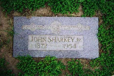 SHARKEY, JOHN JR. - Pottawattamie County, Iowa | JOHN JR. SHARKEY