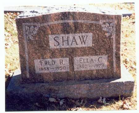 SHAW, FRED R. - Pottawattamie County, Iowa | FRED R. SHAW