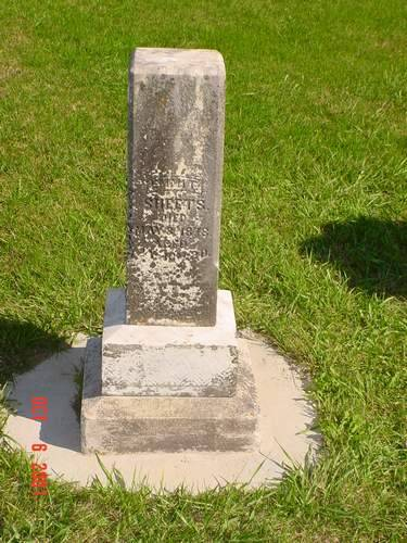 SHEETS, EMMIT [HEADSTONE] - Pottawattamie County, Iowa | EMMIT [HEADSTONE] SHEETS