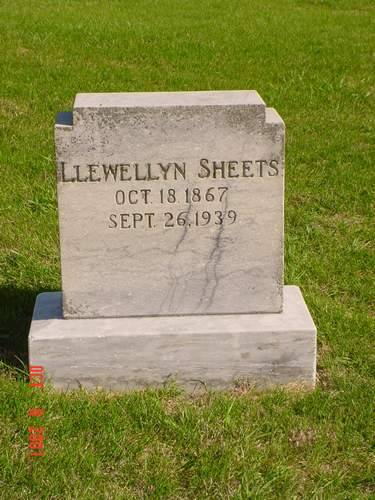 SHEETS, LLEWELLYN - Pottawattamie County, Iowa | LLEWELLYN SHEETS