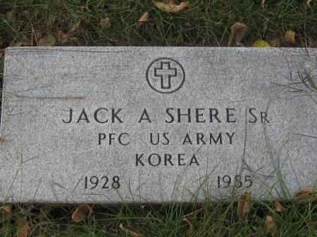 SHERE  SR., JACK - Pottawattamie County, Iowa   JACK SHERE  SR.