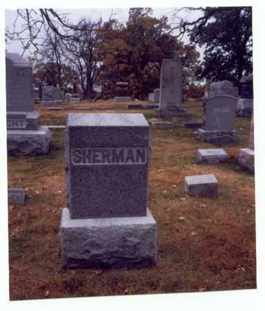 SHERMAN, FAMILY MARKER - Pottawattamie County, Iowa | FAMILY MARKER SHERMAN