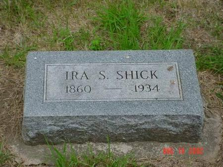 SHICK, IRA S. - Pottawattamie County, Iowa | IRA S. SHICK