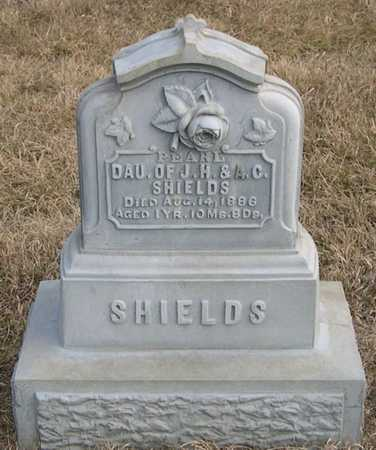 SHIELDS, PEARL - Pottawattamie County, Iowa | PEARL SHIELDS