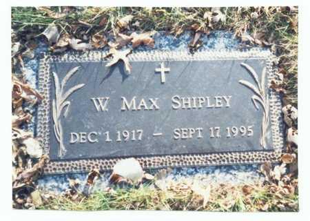 SHIPLEY, W. MAX - Pottawattamie County, Iowa | W. MAX SHIPLEY