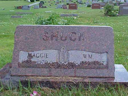 SHUCK, WM - Pottawattamie County, Iowa | WM SHUCK