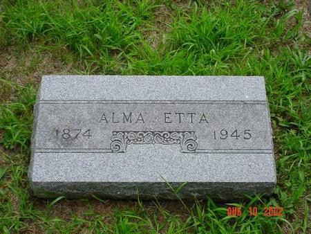 SIEFFORD, ALMA ETTA - Pottawattamie County, Iowa | ALMA ETTA SIEFFORD