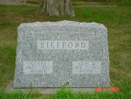 SIEFFORD, VESTA & GUY W. - Pottawattamie County, Iowa | VESTA & GUY W. SIEFFORD