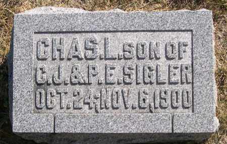 SIGLER, CHARLES L. - Pottawattamie County, Iowa | CHARLES L. SIGLER