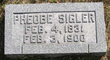 SIGLER, PHEOBE - Pottawattamie County, Iowa | PHEOBE SIGLER