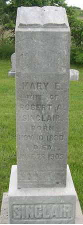 SINCLAIR, MARY E. - Pottawattamie County, Iowa | MARY E. SINCLAIR
