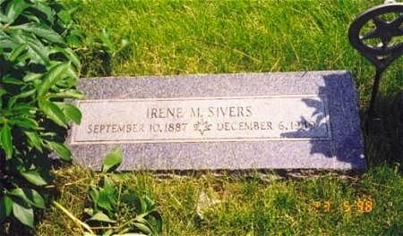 GARDNER SIVERS, IRENE - Pottawattamie County, Iowa | IRENE GARDNER SIVERS