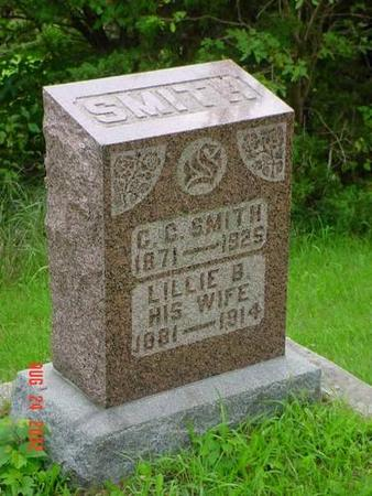 SMITH, C.C.& LILLIE B. - Pottawattamie County, Iowa | C.C.& LILLIE B. SMITH