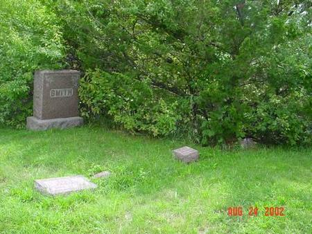 SMITH, EDWARD W. & MARIA A. [PLOT] - Pottawattamie County, Iowa | EDWARD W. & MARIA A. [PLOT] SMITH