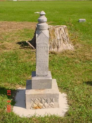 SMITH, HIRUM [HEADSTONE] - Pottawattamie County, Iowa | HIRUM [HEADSTONE] SMITH