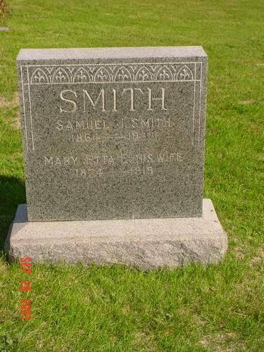 SMITH, SAMUEL & MARY ETTA E. - Pottawattamie County, Iowa | SAMUEL & MARY ETTA E. SMITH