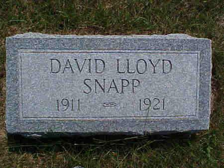 SNAPP, DAVID - Pottawattamie County, Iowa | DAVID SNAPP