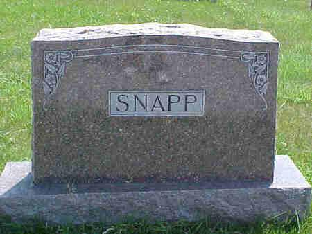 SNAPP, EDWARD - Pottawattamie County, Iowa | EDWARD SNAPP