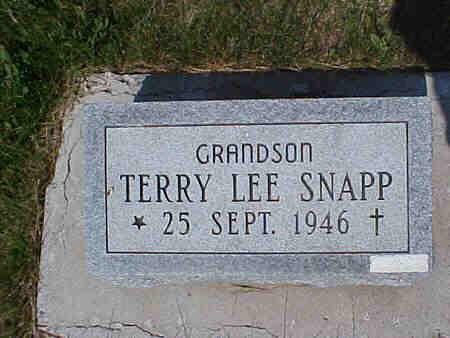 SNAPP, TERRY - Pottawattamie County, Iowa | TERRY SNAPP