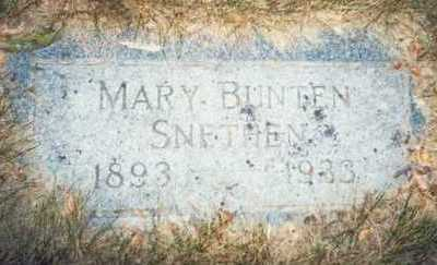 SNETHEN, MARY - Pottawattamie County, Iowa | MARY SNETHEN