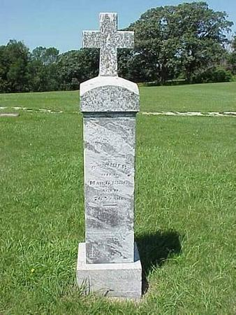 SNIDER, HEADSTONE - Pottawattamie County, Iowa | HEADSTONE SNIDER