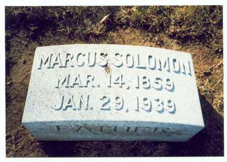 SOLOMAN, MARCUS - Pottawattamie County, Iowa | MARCUS SOLOMAN