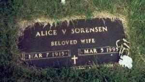 SORENSEN, ALICE VIOLA - Pottawattamie County, Iowa | ALICE VIOLA SORENSEN