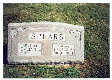 SPEARS, GEORGE ANDREW - Pottawattamie County, Iowa | GEORGE ANDREW SPEARS