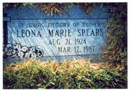 SPEARS, LEONA MARIE - Pottawattamie County, Iowa | LEONA MARIE SPEARS