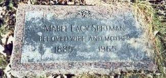 SPETMAN, MABEL LUCY - Pottawattamie County, Iowa | MABEL LUCY SPETMAN