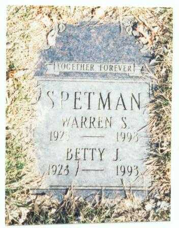 SPETMAN, BETTY J. - Pottawattamie County, Iowa | BETTY J. SPETMAN