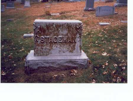 STAGEMAN, FAMILY MARKER - Pottawattamie County, Iowa | FAMILY MARKER STAGEMAN