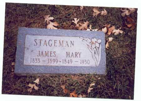 WILLIAMS STAGEMAN, MARY E. - Pottawattamie County, Iowa | MARY E. WILLIAMS STAGEMAN