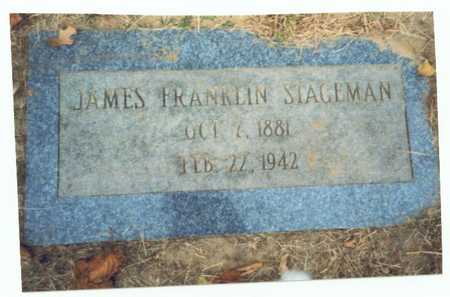 STAGEMAN, JAMES FRANKLIN - Pottawattamie County, Iowa | JAMES FRANKLIN STAGEMAN