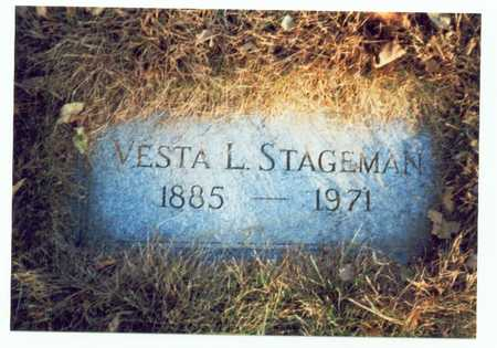 STAGEMAN, VESTA L. - Pottawattamie County, Iowa | VESTA L. STAGEMAN