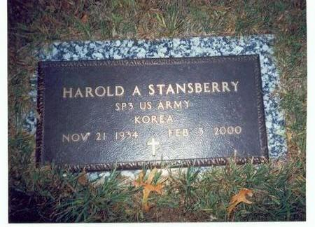 STANSBERRY, HAROLD A. - Pottawattamie County, Iowa | HAROLD A. STANSBERRY