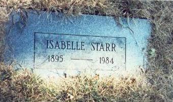 STARR, ISABELLE NORA - Pottawattamie County, Iowa | ISABELLE NORA STARR