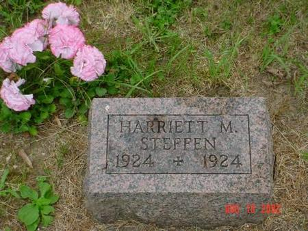 STEFFEN, HARRIETT M. - Pottawattamie County, Iowa | HARRIETT M. STEFFEN
