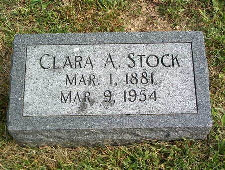 STOCK, CLARA A. - Pottawattamie County, Iowa | CLARA A. STOCK