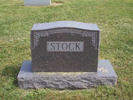 STOCK, FAMILY MARKER - Pottawattamie County, Iowa | FAMILY MARKER STOCK