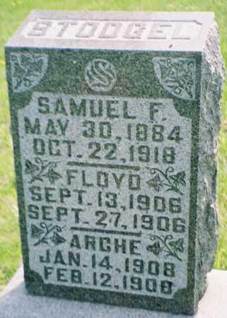 STODGEL, SAMUEL F. - Pottawattamie County, Iowa | SAMUEL F. STODGEL